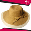 FASHION SUN HAT WITH BOWKNOT