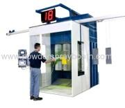 Electrostatic powder coating application