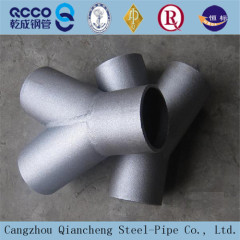 High Quality SCH40 Seamless Carbon Steel Reducing Tee