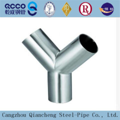 High quality Carbon steel reducing tee/straight tee