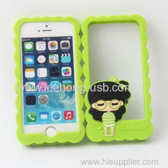 lovely girls silicone phone cases