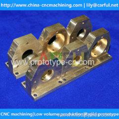 precision copper parts CNC machining casting copper CNC machining in China