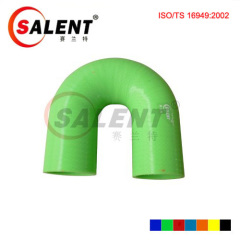 """SALENT 1 1/2""""(38mm) High Temp Reinforced 180 Degree Elbow Coupler Silicone Hose"""