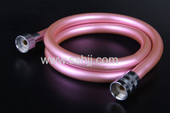 Pink soft pvc flexible hose