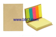 Promotional small size eco sticky notes pad with printing