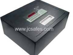Laser cut top open hotel digital safe