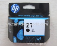 Genuine HP 21 Black Ink Cartridge
