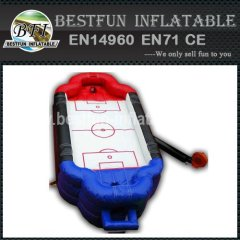 INFLATABLE DEVICE FOR COMPETITION FOOTBALL