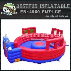 Inflatable Red Gladiators Arena