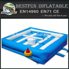 Blue Inflatable Arena Gladiators