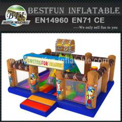 INFLATABLE WALL CLIMBING TREASURE