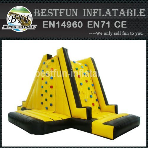 INFLATABLE WALL CLIMBING SLIDE