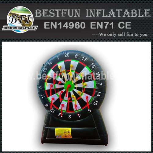 INFLATABLE PUFFED DART GAME