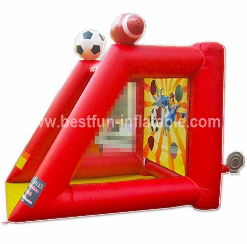 Cheap inflatable shooting games for football
