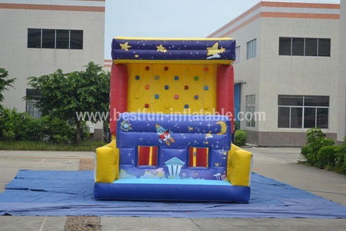 Climbing wall amusement equipment