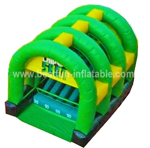 Commercial inflatable shooting game