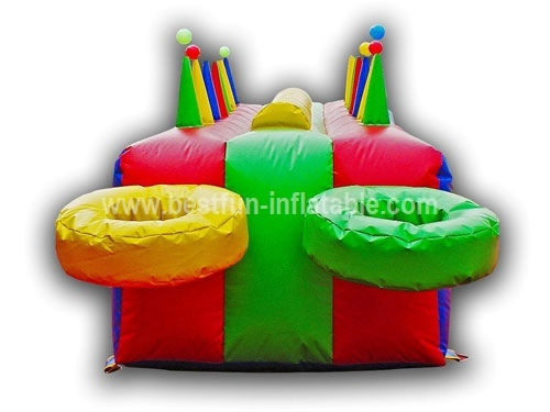 Fun inflatable air blow ball game