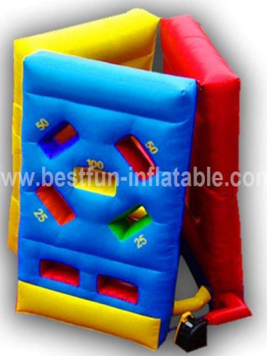 inflatable 3 in 1 combo shoot game