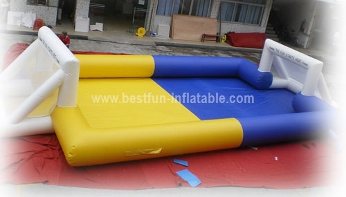 Inflatable Human Football Pitch