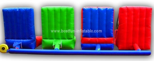 Inflatable interactive game 4 in 1 combo sport game