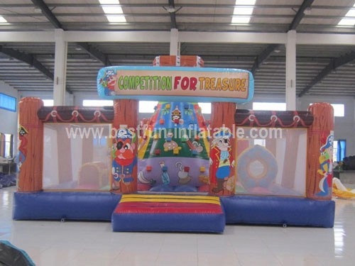 Inflatable Rock Climbing Game