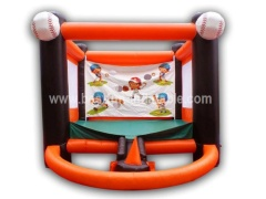 Inflatable Sports Game with Baseball field