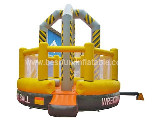 Interesting inflatable demolitional ball