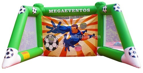 Wholesale inflatable soccer shooting game