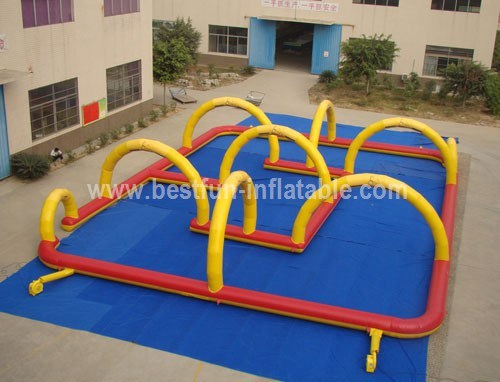 Inflatable racing track for sale
