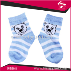 Cute Bear Soft Cotton Socks For Baby