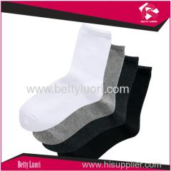 Solid Color Plain Soft Socks for Adult