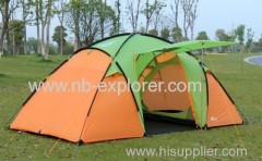 Luxury family camping tent / 4persons tent / 2rooms camping tent