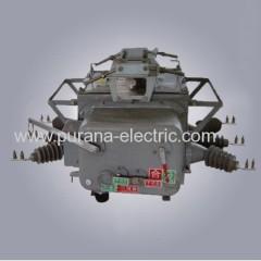 12kv al aire libre de media tensión y alta tensión de CA interruptor de circuito de vacío