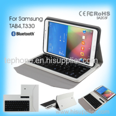 bluetooth keyboard with usb port for Samsung TAB4 T330