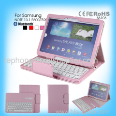pipo leather case bluetooth keyboard for Samsung NOTE 10.1 P600/T520