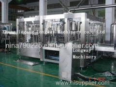 Carbonated drink production line /gas water making filling bottle machine