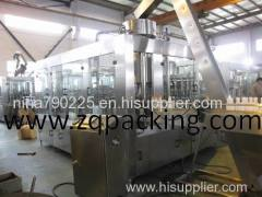 Fruit Pulps Filling Machine Production Line HOT FILLING MACHINE WASHING +FILLING+CAPPING