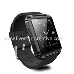 U8 Bluetooth Smart Watch Hands Free Wrist Watch for IOS Android iPhone Samsung