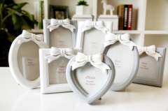 bowknot /lovely photo frame