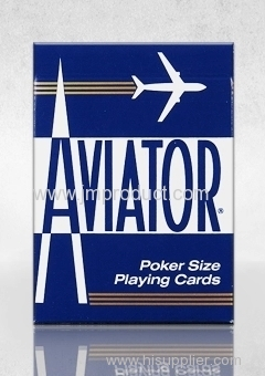 wide size avi ator playing card-china manufactory