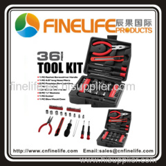 High quality 36 pieces tool kit