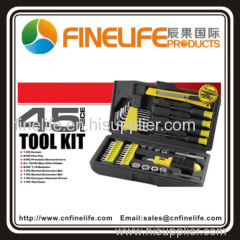 Hot selling 45 piece tool set