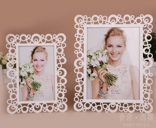 countryside /metal / oblong photo frame