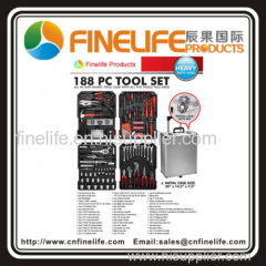 188pcs Tool Set With Aluminium Case as seen on TV