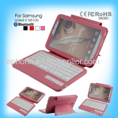 bluetooth keyboard ipad case for Samsung note8.0 N5100