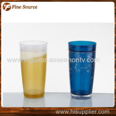 Fashion keep cool drinking cupCustomized plastic cool cup 500ml