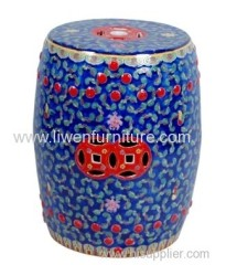 Chinese porcelain stool