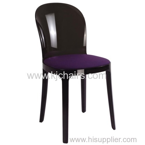 PC plastic chairs without armrest