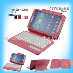 silicon bluetooth keyboard soft keyboard for Samsung T310