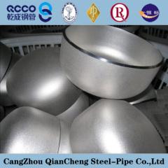 TP316L ASTM A409 Butt Welding Stainless Steel Cap